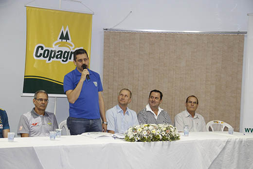 Mesa do arbitral 2014 - Sede da AACC Copagril